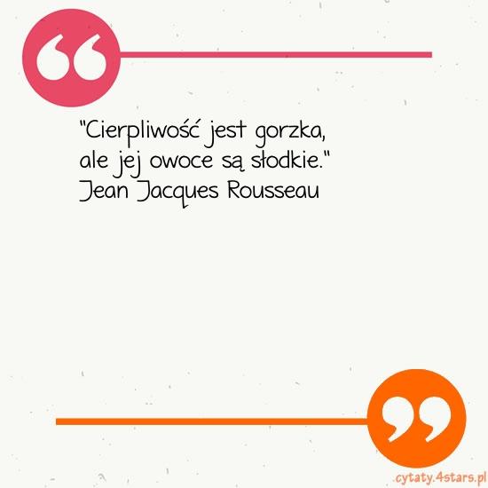 Cytaty Jean Jacques Rousseau Kategoria Cierpienie