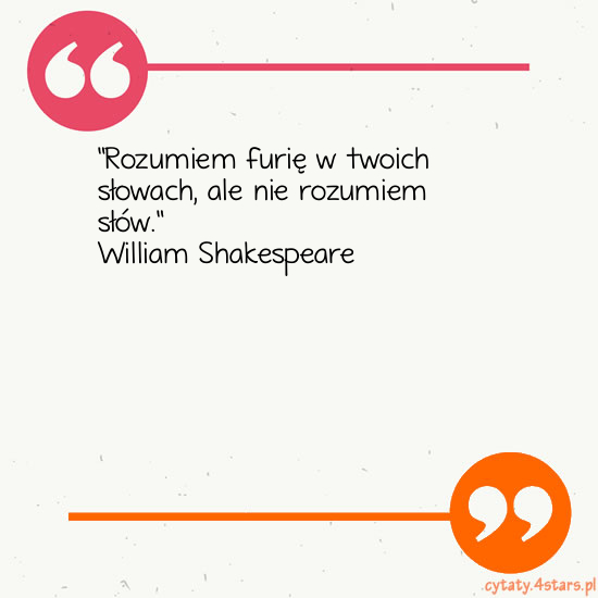Cytaty:William Shakespeare